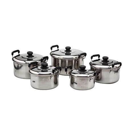 america panci kingko  america high pots set  pcs