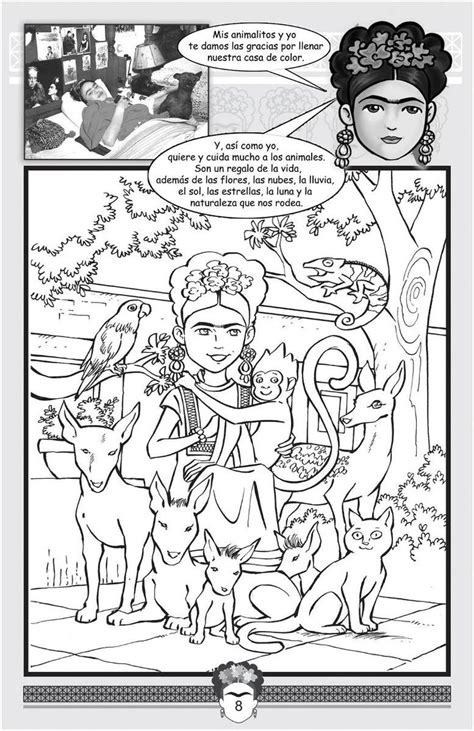 frida kahlo coloring pages   print