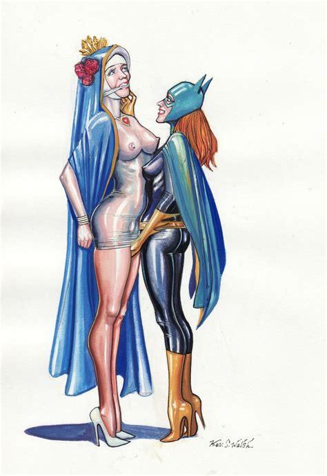 image 394914 barbara gordon batgirl batman christianity dc tdkev virgin mary religion