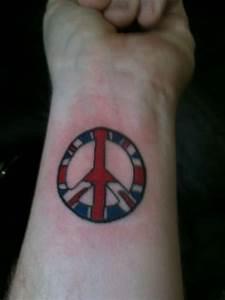 Great Tattoos: Peace Symbol Tattoos