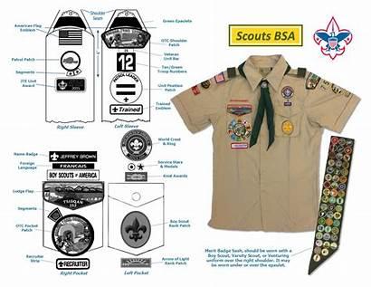Scout Uniform Bsa Guide Scouts Activity Guides