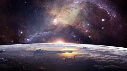 Universe Galaxy Stars Space Background Widescreen