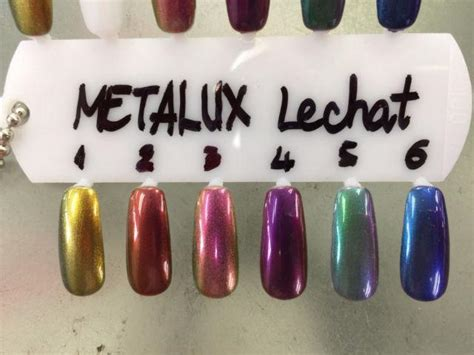 lechat perfect match metallux collection  colors
