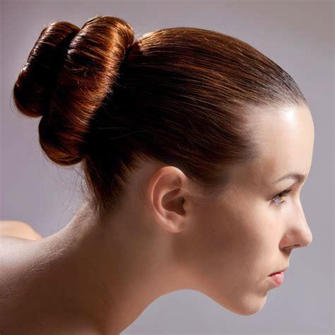 frisuren mit dutt doppelter tiefer ballerina dutt frisuren mit dutt