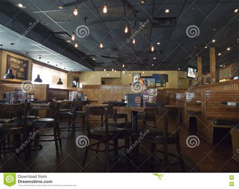 outback steakhouse interior fort smith ar editorial