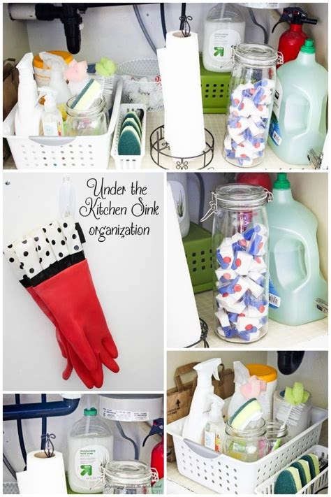 kitchen sink organization how to organizing the kitchen sink for less than 15 2802