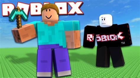 If Minecraft Steve Played Roblox!