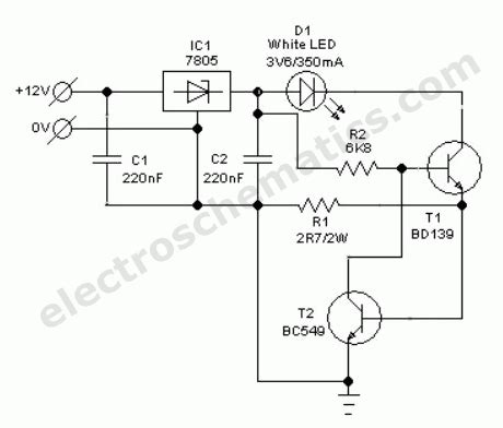 Light Wiring Diagram Automotive by Automobile White Led Light