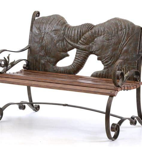 Maitlandsmith Elephant Themed Garden Bench Ebth