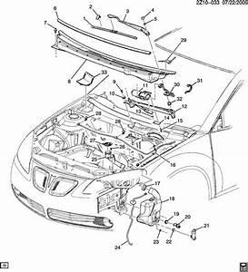 Pontiac G6 Windshield Wiper Arm  Armwsw