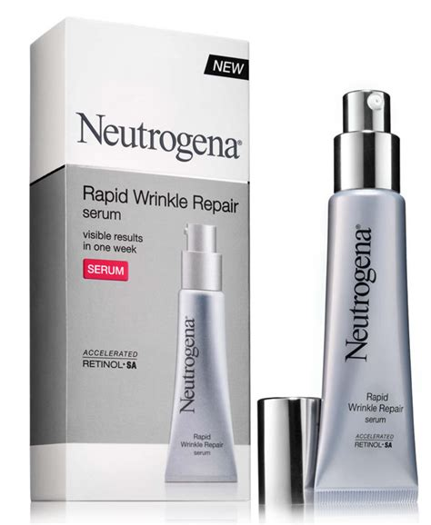 Amazon.com: Neutrogena Rapid Wrinkle Repair Serum, 1 Ounce
