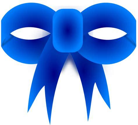 Blue Ribbon Clip Blue Ribbon Bow Clip At Clker Vector Clip