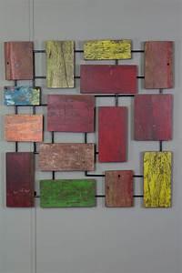 Décoration Murale En Bois : d coration murale design abstrait bois de bateau d co ~ Dailycaller-alerts.com Idées de Décoration