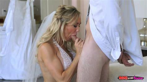 This Hot Milf Bride Has A Pre Wedding Threesome