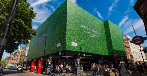covent garden continues  grow  reveal  living wall