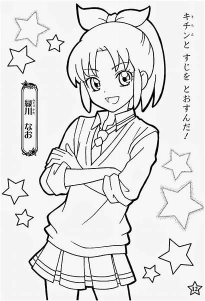 Precure Smile Coloring Anime