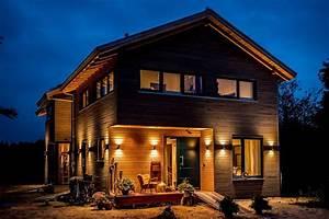 Bilder Von Häuser : moderne h user bilder moderner landhausstil fassade mit douglasienholzverschlaung homify ~ Markanthonyermac.com Haus und Dekorationen