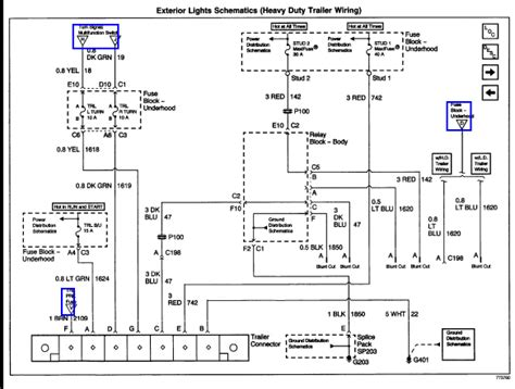 2002 Chevy Trailer Wiring Diagram by Need 3wiring Diagram For A 2002 Chevy Silverado 3 4 Ton