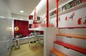 Säulen Fürs Wohnzimmer : bett design 24 super ideen f r kinderzimmer innenarchitektur ~ Sanjose-hotels-ca.com Haus und Dekorationen