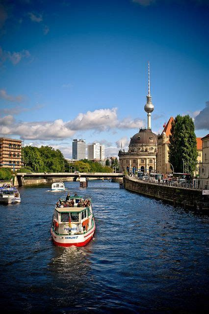 Berlin To Potsdam By Boat by Berlin By Boat On The Spree River Germany Fascinating
