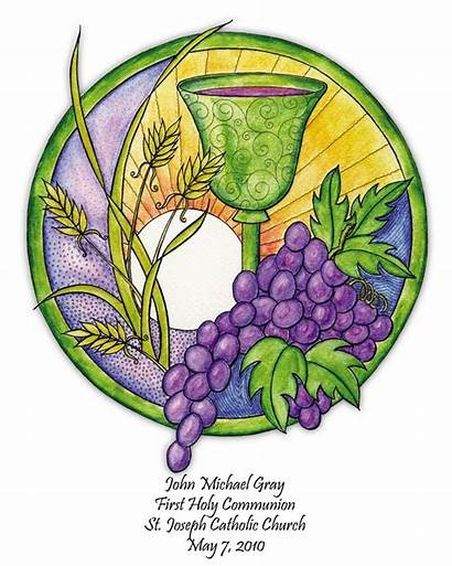 Communion Clipart Given Clipground 8x10 Personalized Gift
