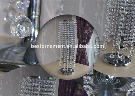silver acrylic chandelier centerpiece buy