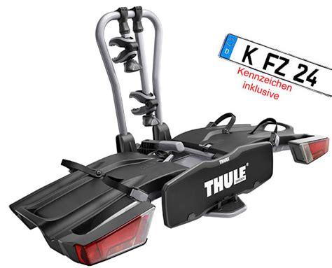 e bike kennzeichen modell 2016 thule easyfold 931 e bike tr 228 ger