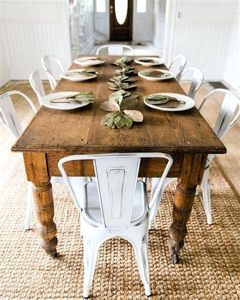 kitchen island centerpieces dining table country rustic dining tables