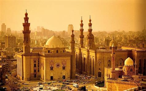 Golden Mosque Wallpaper by Beautiful Mosque Cairo Image Hd Wallpapers