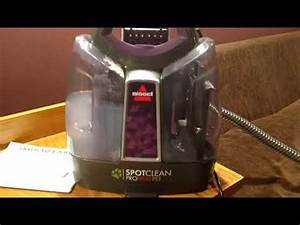 Bissell Spot-clean Proheat Pet Unboxing And Review
