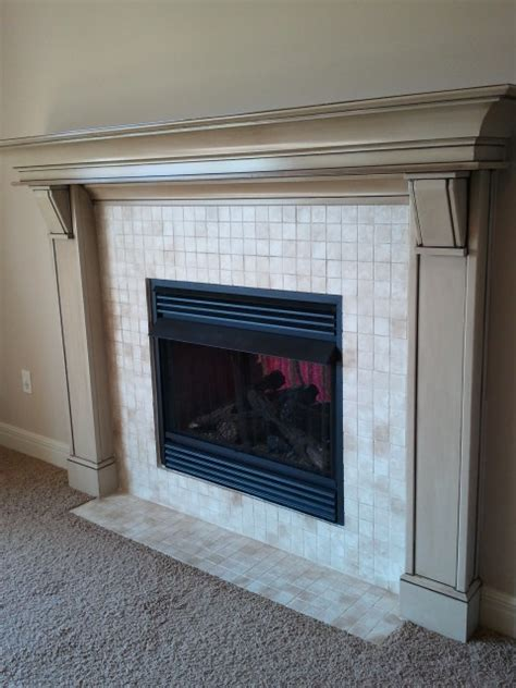can you paint tile fireplace tile you can paint it the magic brush inc