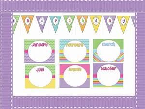 birthday bulletin board birthdays teaching and birthday With bulletin board calendar template