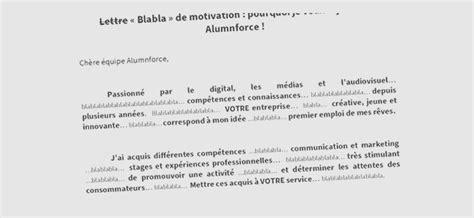 lettre de motivation originale modele lettre motivation