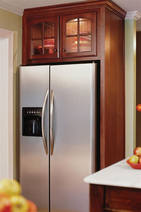 kitchen refrigerator cabinet creative kitchen cabinet ideas southern living 2487