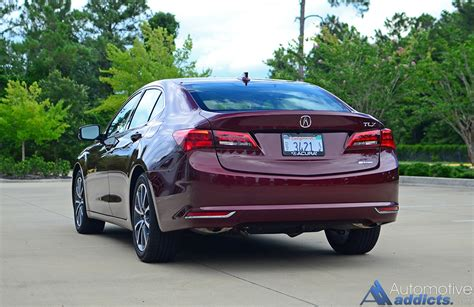 acura tlx  sh awd advanced package quick spin