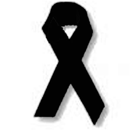 Risultato immagine per nastrino a lutto