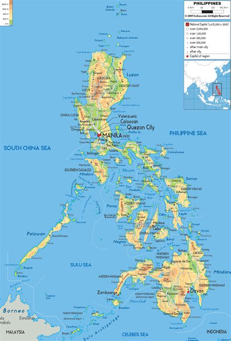 map  philippines travelsmapscom