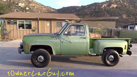 Chevy Stepside Manual Pickup Truck