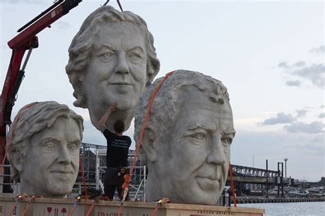The Grand Tour's Huge Heads Are In Sydney Today Gizmodo