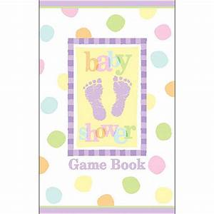 baby shower game book cover baby shower game With baby shower game booklet template