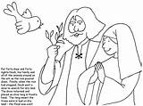 Bible Noah Coloring Pages Wife Resources Children Google Activities Ark sketch template