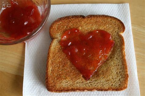 heart shaped toast  breakfast   takes