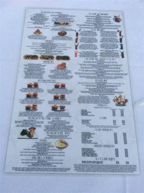 menu  sugar factory century city restaurant