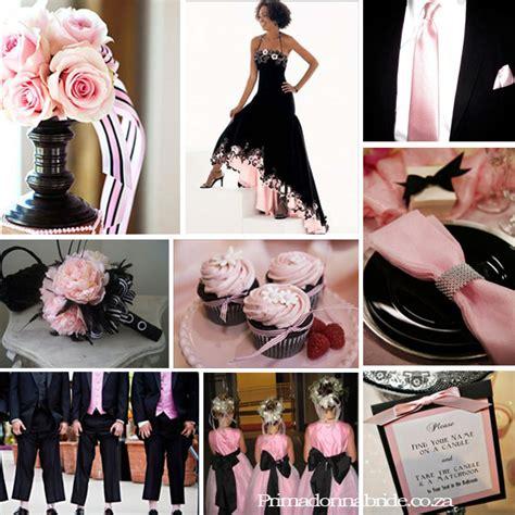 wedding colours red and black primadonna bride