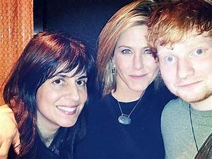 Jennifer Aniston And Ed Sheeran Spend Thanksgiving Together