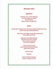 christmas dinner menu food and drink pinterest