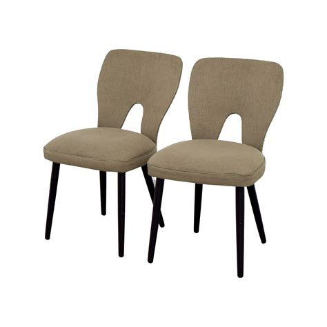 wayfair wayfair upholstered beige dining chairs chairs