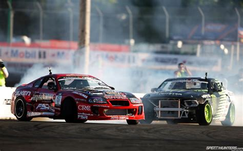 toyota supra drift toyota supra ford mustang drift hd wallpaper cars