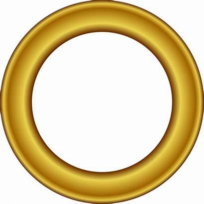 Circle Gold Frame Clip Clipart Frames Star
