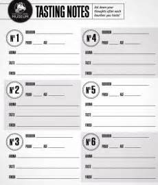 Wine Tasting Sheet Template Your Guide To Hosting A Bourbon Tasting Brit Co